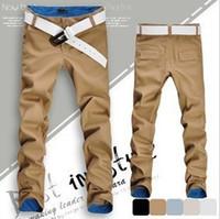 Wholesale fashion fit mens casual pants new design business trousers high quality cotton pants colors size mmj162