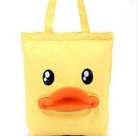 Wholesale Big Duck Shopping Bag Canvas New Arrival B