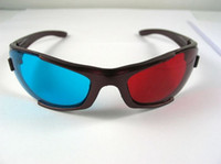 Red/Blue 3d movies for sale - Hot Sales Pair Red Cyan Blue D GLASSES Plastic for movie game