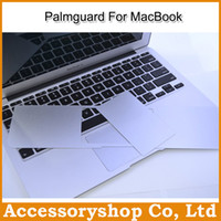 Wholesale Unibody Metal Adiabatic Plamguard Wristband For MacBook Air Pro Retina Trackpad Protector Low profile Palmrest Anti Scratch DHL
