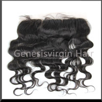 """Brazilian Hair Body Wave 8inch~24inch Silk Base Closures Queen Hair Products Virgin Human Brazilian Body Wave Hair Lace Frontal 13*4 ,8""""-24"""" Bleached Knots Free shipping"""