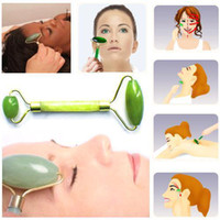 Wholesale S5Q Chinese Royal Jade Roller Facial Face Neck Slimming Massager Beauty Tool New AAAAHJ
