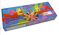 Wholesale Rainbow Loom Kit Rubber Bands super fun rubber bracelet making kit
