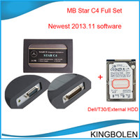 Wholesale Professional Mercedes Benz Diagnostic tool MB star C4 newest version MB star compact C4 DHL Fedex EMS China Post