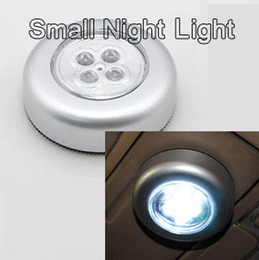 4W High bright LED Stick touch lamp post lights small night light wardrobe lights car trunk tailstock lamp nightlight