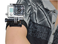 Wholesale New Velcro Band Wrist Strap with Mount for Go pro GoPro Hero Hero Hero