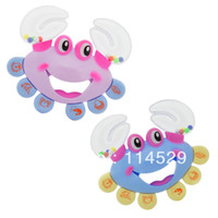 Wholesale 2set Toys Baby Best Gift Baby Rattle Crab Style Rattle
