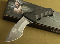 Fixed blade   Italy Fox Predator 171113 SPECWOG Warrior Professional Combat Hunting Fighting Survival Knife kydex N690 Special Force 59 HRC