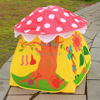 Tents Animes & Cartoons PVC 2014 Newest Kids Gift Eco-Friendly Colorful Play House Tents Sweet Children Kids Tent Out Door 11923