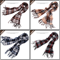 Wholesale 2013 winter brand lovers plaid thermal scarf hot selling quality