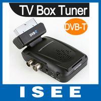 PVRs DVB-S Digital Digital Scart TV Box Tuner DVB-T Mini Freeview Remote Receiver Video HD TV Box Free shipping China post