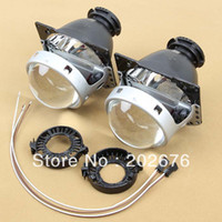 Cheap FREE SHIPPING, HOT CHA DLand 2014 HELLA GEN5 HID BI-XENON PROJECTOR LENS, WITH Q5 LOW BEAM AND HELLA G3 HIGH BEAM