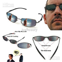 Wholesale Spy Sunglasses Mirror eyewear Rearview Rear View Behind Vision Anti Tracking Monitor Sample