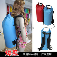 Wholesale 30 L Water Resistant Waterproof Dry Bag for Canoe Floating Boating Kayaking Camping