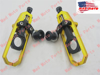 Wholesale chain adjuster Yamaha yzf R1 GOLD BLACK