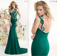 one shoulder evening dress - Unique design One shoulder Sweetheart Tarik Ediz Spring Summer Mermaid Evening Dresses Long Elie Prom Dresses Backless Evening Gowns