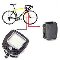 Wholesale S5Q Wireless Bike Digital LCD Speedometer Odometer For Ourdoors Mountain Bicycle AAAAEQ