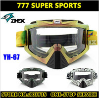 Wholesale 2014 Newest Motorcycle Goggle Motocross Goggles Anti UV400 Anti Scratched Super Gears Cycling Eyewear