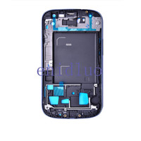 Best 5PCS Middle Frame Housing Frame Bezel For Samsung Galaxy S3 I9300 S4 I9500 I9505 I337 Free Shipping