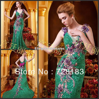 apple imports - 2014 New Imported Luxury Crystal Sequins Lace Prom Dresses Bride Toast Dress