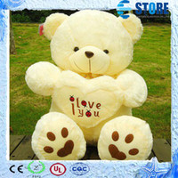 Wholesale Best Gift Beige Giant Big Plush Teddy Bear Soft Gift for Valentine Day Birthday High Quality