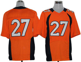 Wholesale Moreno Orange American Football Jerseys Mens Elite Jerdeys Brand Sports Jerseys With Names and Numbers High Quality Pro Bowl