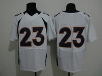 Wholesale 23 Mcgahee White Super Bowl American Football Jerseys Mens Elite Jerdeys Athletic Wear With Names and Numbers For New Season New Arrive