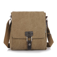 Wholesale Retro Canvas Men s Bags portable Durable messenger bag shoulder hand bags multifunctionable free shiping