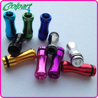 Wholesale delrin drip tips Atomizer Mouthpiece for ecig pipe drip tips drip tips for ecigs with high quality via DHL