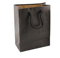 Wholesale Cm Black Craft Paper Bag Paper Shopping Bag amp Handle Bag