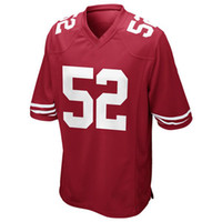 Cheap 49ers Patrick Willis #52 Game Jerseys American Football Jerseys Red Well Embroidery Logos and Names Apparel 2014 Super Bowl Players Apparel