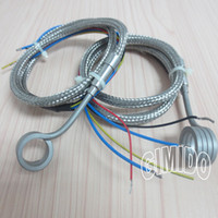 Wholesale Coil Heater Hot Runner Heater Spring Heater I D mm Height mm V250W with Stainless Steel Braided wire