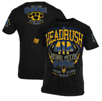 Wholesale MMA man t shirt fight tops HEADRUSH Anthony quot Showtime quot Pettis Walkout Shirt