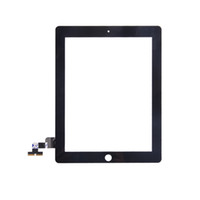 Wholesale OEM Touch Screen Glass Panel With Digitizer Replacement Black And White For iPad iPad iPad Free DHL EMS
