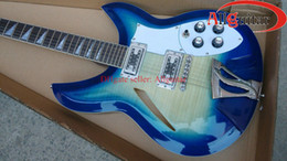 Wholesale 12 strings model Light Blue Electric Guitar