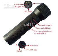Wholesale hot sell SPY IR LED Flashlight Camera fps Spy Hidden Camera