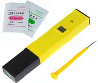 Wholesale Mini Pocket Pen Digital LCD Water PH Meter Tester Aquarium Pool laboratory Screwdriver