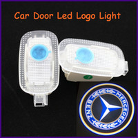 Ghost Light/Welcome Light Wedge front,back Auto body parts for Mercedes-Benz, 12V ABS material specific car door led shadow light, logo laser projector light