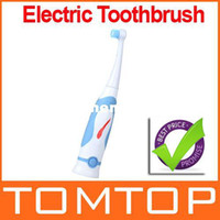Adults Soft  Wholesale - Electric Toothbrush Battery Powered Massager 3D Action Head Dental Care Free shipping