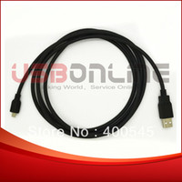 Wholesale 6FT High Quality USB Type A Male to Type B Micro USB Male Cable for CELL PDA DATA