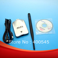 Wholesale USB G M WIRELESS LAN Adapter High power MW RTL8187L Chipset silver