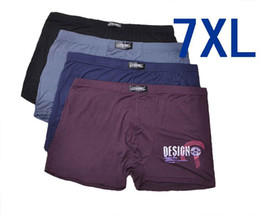 Wholesale XXXXXXXL Men s bamboo fiber underwear breathable mens boxer shorts loose pants excellent quality plus size XL
