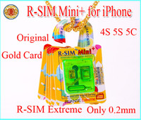 R- SIM Mini+ RSIM Mini Extreme 0. 2mm Thin Film gold card Unlo...