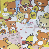 Wholesale Creative stationery cartoon relax bear postcards Greeting cards packets of Zhang price