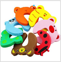 Wholesale 100pcs Baby Safety Doorways stopper baby protecting product Children antico safe llision Corner Guards