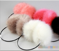 Wholesale 15 CM Diameter Winter Warmer Ear Muffs Korean Plush Earmuffs Earcap Fashion Ear Covers