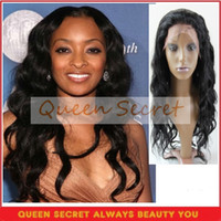 Wholesale 5A Grade Human Hair Full Lace Wigs For Black Women Brazilian Virgin Hair Jet Black Body Wave inches
