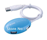 Wholesale SSK Shuttle mini usb hub port usb hub USB HUB Trailer four SHU017 Genuine freeshipping