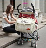 Wholesale Fashion environmental protection material mami Bag Nursing Bag Baby Bag Nappy Bag
