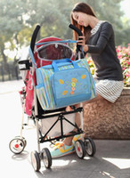 Wholesale Mami Bag Nursing Bag Baby Bag environmental protection material fashion Nappy Bags